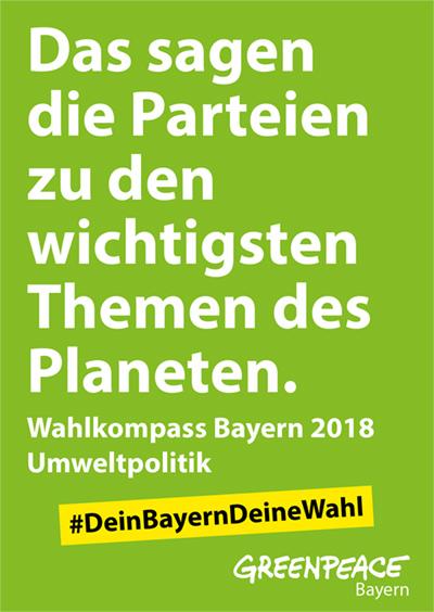 Wahlkompass Bayern 2018